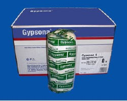 Gypsona S Plaster Cast Bandage 8in x 5 Yds Fast Set BSN 307378- Box/12
