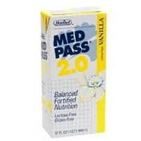 Case of Med Pass 2.0 Vanilla Oral Supplement 32oz Hormel 27016- CS/12