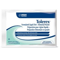 Box of Tolerex 80 gram Packets Unflavored Nestle 04580500- Box of 6