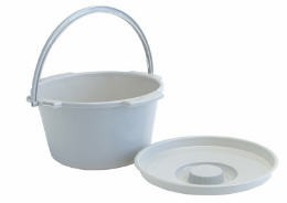 Pail & Cover For Commode- Autoclavable- Graham Field 6690A- 1 Each