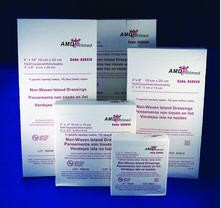 AMD Non-Adherent Island Drsg- 4 x 4 Inch- A50044- Sterile- Box of 15