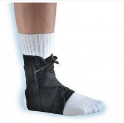 Webly Orthosis Ankle Brace Small Black Color Hely & Weber 304S- 1 Each