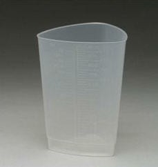 Cup Triangular 32oz Graduated for Patient Rooms Medegen H97101- 1 Each