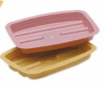 Cs- Soap Dish- Gold Color- Medical Action H37005- CS/1000