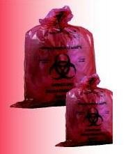 Bags Medical Action Biohazard Waste 11 x 14 Inch- 3 Gal- RD610- CS/200