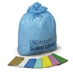 Laundry Bag- Soiled Linen Bags- Yellow- Med Action 5145- CS/100