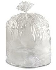 Trash Bag Clear 40-45 Gallon- 40x46 Inch- Medical Action 2350C- CS/100