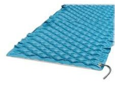 Air Pro Pad Deluxe- Mtrss Overlay with Flaps- Bluechip Med 4810- 1 Ea
