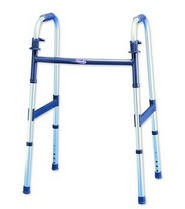 INV6291A Folding Walker Adult 2 Button 5 Ft 3 In - 6 Ft 4 In- 1 Each