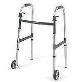 Adult Walker with 5 Inch Wheels- IClass Dual Release- INV62915F- Each