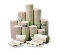 Bandage Elastic Compression 6 Inch x 5 Yards Medicom AMD 623- 1 Each