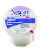Transpore First Aid Tape 2 Inch x 10 Yds Clear 3M Nexcare 527P2- 1 Ea