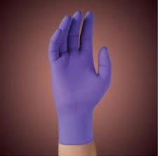 KC500 Purple Nitrile PF Exam Gloves NS Ltx Free X-Large 55084- 90/Box