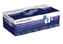 Gloves Medium KC500 Purple Nitrile NonStrl PF LF 55082- 100/Box