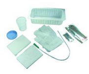 AMSure Catheterization Tray with Vinyl Catheter- Amsino AS870- Case of 20