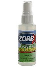 Zorbx Unscented Odor Remover 2 oz- 1110 Zorbx Inc- 1 Each