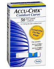 Comfort Curve Test Strips AccuChek Roche BIO30373- Box of 50