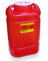 Cont Sharps 5 Gallon XLarge Open Top Red BD Guardian 305491- 1 Each