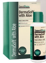 DermaSoft Hand & Body Lotion with Aloe- 8 oz- Mfg# 115- Case of 48