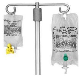 IVA Secure Seals for IV Bags- Green, Case of 1000, Mfg# KNDCP3011G
