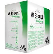 Biogel Surgeons Sz 7.0- PF Latex Surgical Gloves- 30470- 200 Pairs