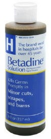 Prep Solution Betadine 16 Oz Antiseptic 6761815017 Flip Top- 1 Each