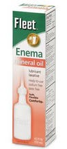 Fleet Enema Mineral Oil Sodium Free 4.5 oz Latex Free 301- 1 Each