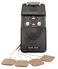 Medquip TN3000 Tens System- Dual Channel- 3 Modes- 1 Each