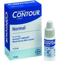 Contour Control Solution Normal Type 2.5mL Bayer 7109A- 1 Each