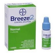 Breeze2 Normal Control Solution 2.5mL Bayer 1489- 1 Each