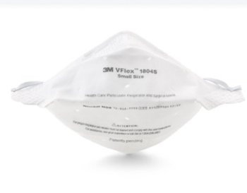 3m flat fold face mask