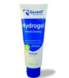Gentell Hydrogel Wound Gel 4 oZ Tube 11140- 1 Each