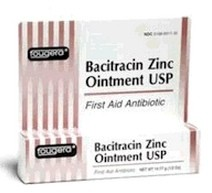 Bacitracin Zinc Ointment 1oz First Aid Fougera 1881564- 1 Each