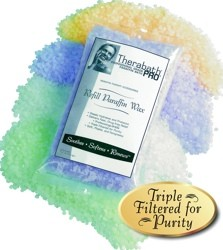 Therabath Scent-Free Paraffin Bath Wax Refill 1 Lb WR0101- 6 Pack