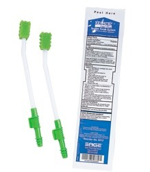Case of Mouth Care Suction Swabs Kit with PeroxAMint Sage 6512- CS/100