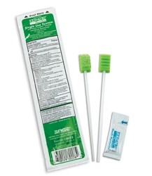 Oral Swab Kit with Perox-A-Mint and Moisturizer Toothette 6013- 1 Each