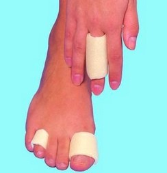 Finger and Toe Bandage Softeze 3/4