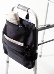 Walker CarryOn Side Mount Pouch for Walkers EZ Access EZ0030BK- 1 Each
