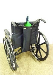 Wheelchair Oxygen Carrier Pack Single Tank EZ Access EZ0141- 1 Each
