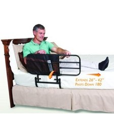 EZ Adjust Bed Rail Standers STD8000 with 6 Pocket Organizer- 1 Each