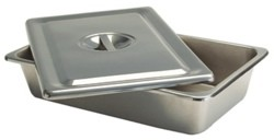 Cath Tray Steel Instrument Flat Handle 12x7.6x2 Inch Graham 3256- 1 Ea