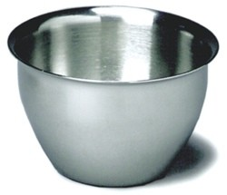 Iodine Cups Large 14oz Stainless Steel 4.4x2.6 Inch Graham 3240- 1 Ea