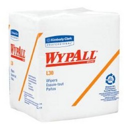 WypAll L30 Task Wipes Light Duty Disposable Halyard 05812- Pack/90