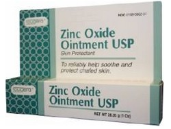 Fougera Zinc Oxide Ointment Skin Protectant 1 oz Tube 1727445- 1 Each