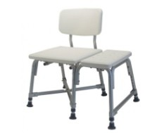 Bath Bench Bariatric 600 Lbs Gray Lumex GF Health 7925A- 1 Each
