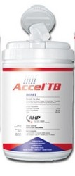Wipes Accel TB Disinfectant 6x7 Inch- ACCWIP1TBUS- 160 Wipes Can
