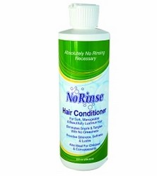 No Rinse Hair Conditioner Alcohol Free 8oz CleanLife 00540- 1 Each