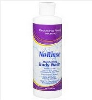 No Rinse 8oz Ready to Use Body Wash No Alcohol CleanLife 00940- 1 Each