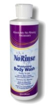 No Rinse Body Wash 2oz Travel Pk Alcohol Free CleanLife 00932- 1 Each