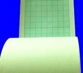 Paper EKG ECG for Lifepak 9 Green 50mm x 100Ft Thermal 698134- Box/10